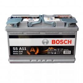12V 80Ah 800A Bosch S6 011 AGM (START-STOP)